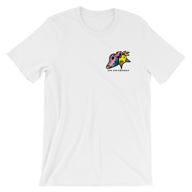 Sugar Skull Style | Color | Short-Sleeve Unisex T-Shirt