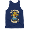 Buzo De Salvamento | Blue | Classic tank top (unisex) | Front and Back Print