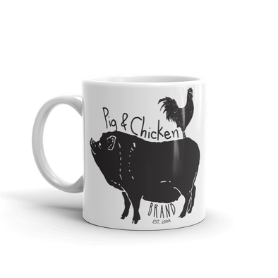 Chicken On Back | Mug