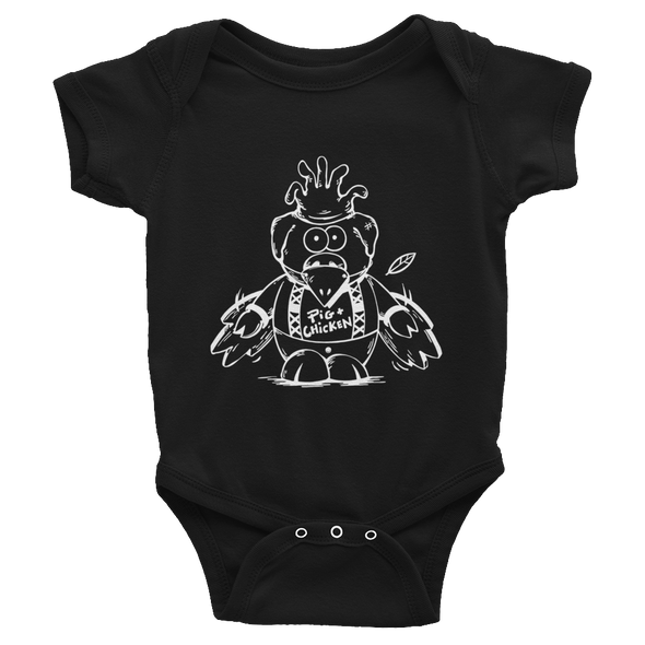 Flying Pig | White | Infant Bodysuit