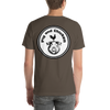 Flying Pig |  Pig & Chicken Logo | Short-Sleeve Unisex T-Shirt | Front And Back Print