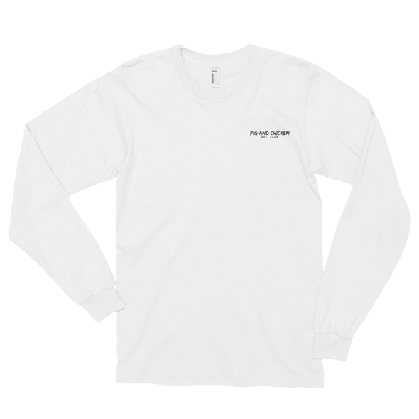 Chicken on Top | Long sleeve T-shirt (unisex)