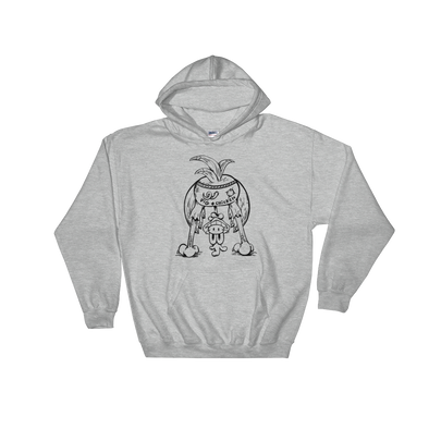 Chicken Butt | Black Ink | Hooded Sweatshirt