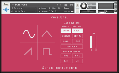 Pure One Synth Kontakt