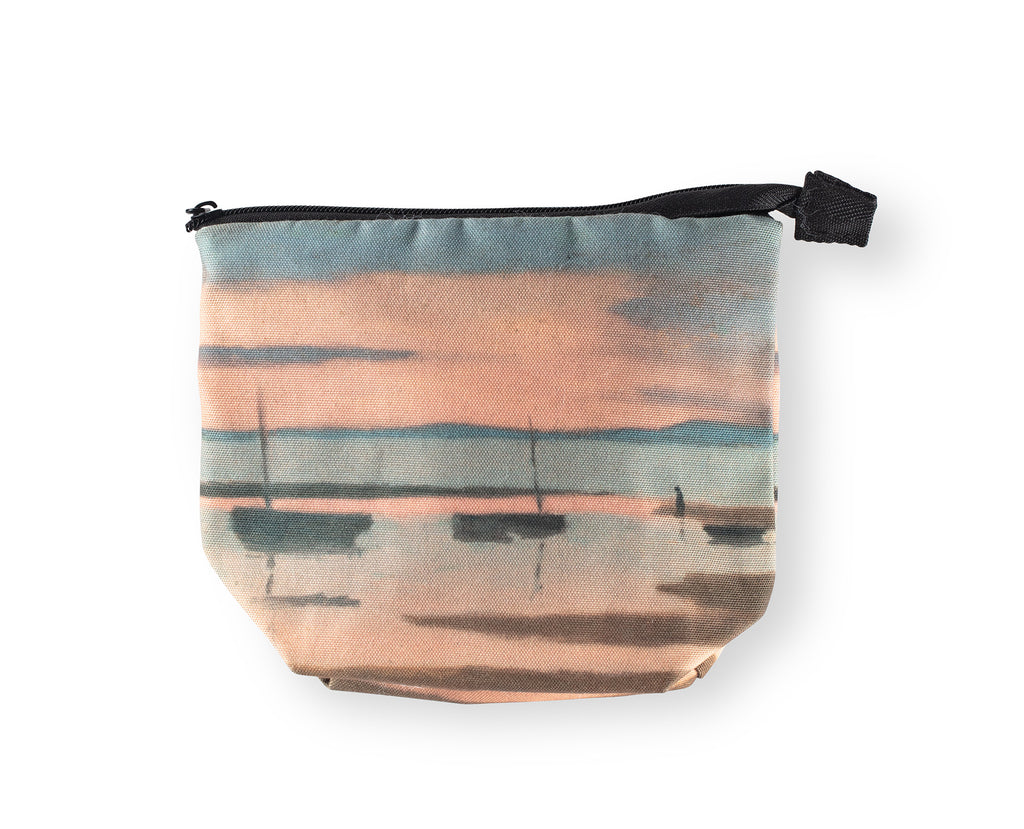 Clarice Beckett Pouch Bag 'Winter Sunset'
