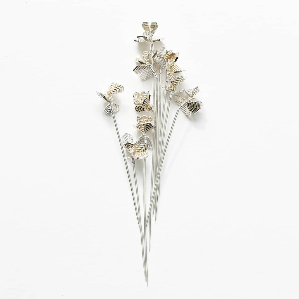 Courtney Jackson Frost Blossom Stick Pin
