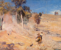 A break away! by Tom Roberts - A3 Print