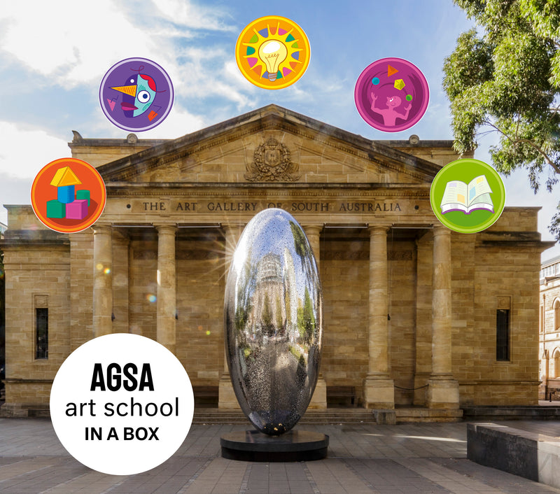AGSA art school in a box   (Pre-Order)