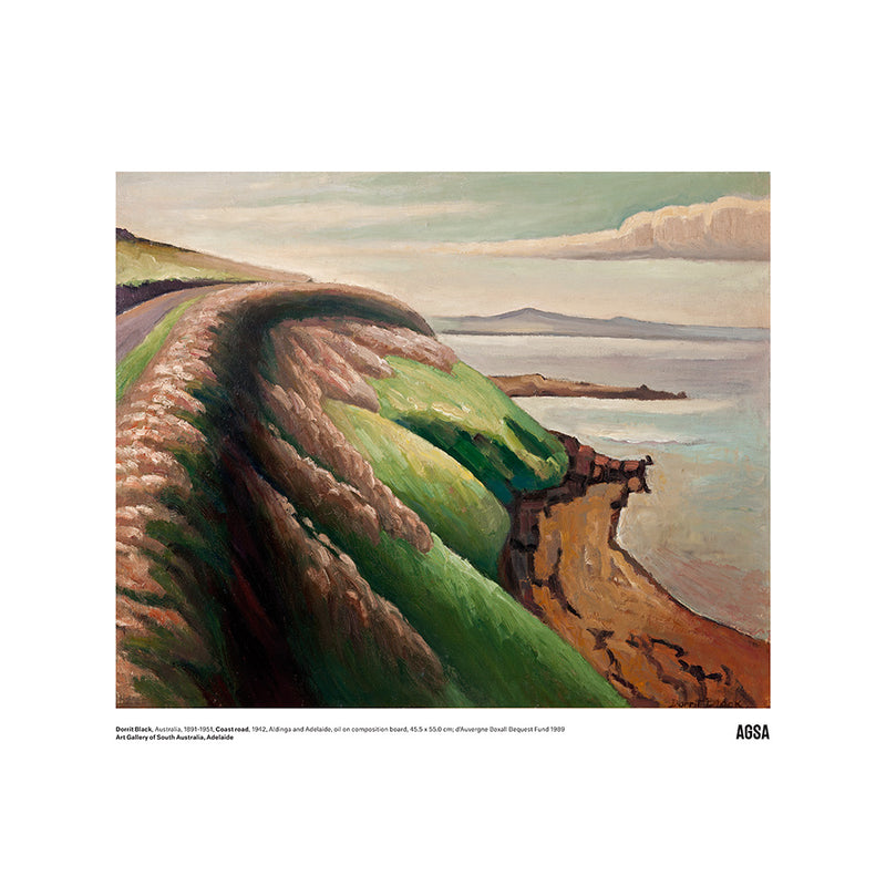 Coast Road by Dorrit Black - A3 Print