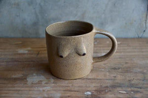 Boob Mug XL Brown