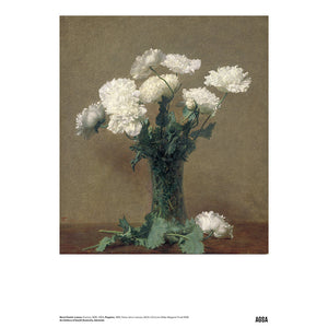 Poppies by Henri Fantin-Latour - A3 Print