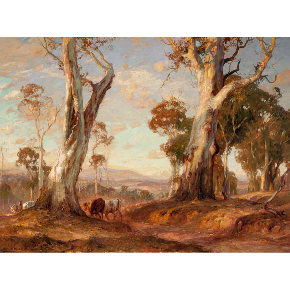 Red Gold by Hans Heysen