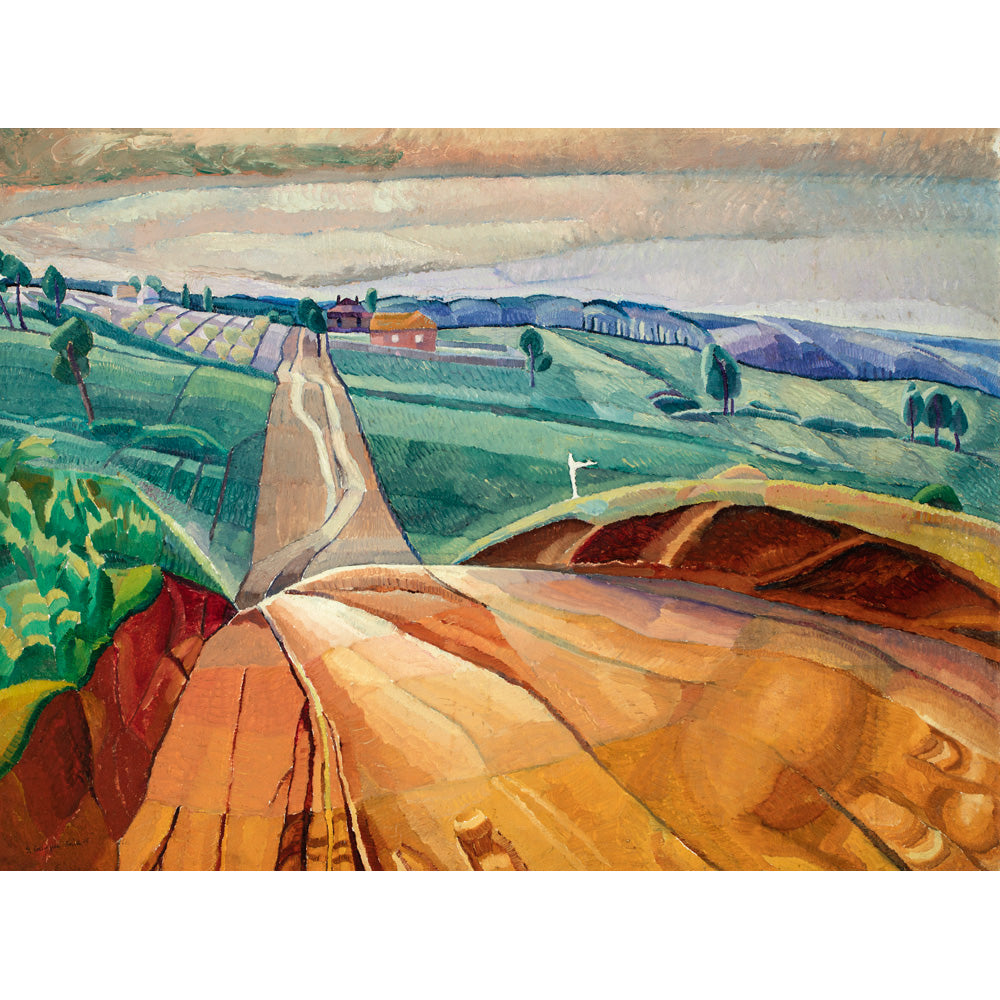 Landscape at Pentecost by Grace Cossington Smith