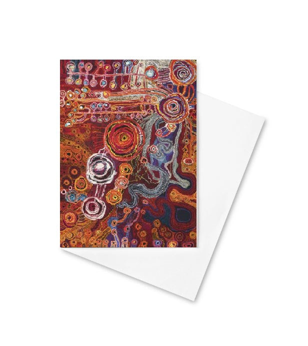 Tarnanthi 2019 -  Ken Sisters Greeting Card