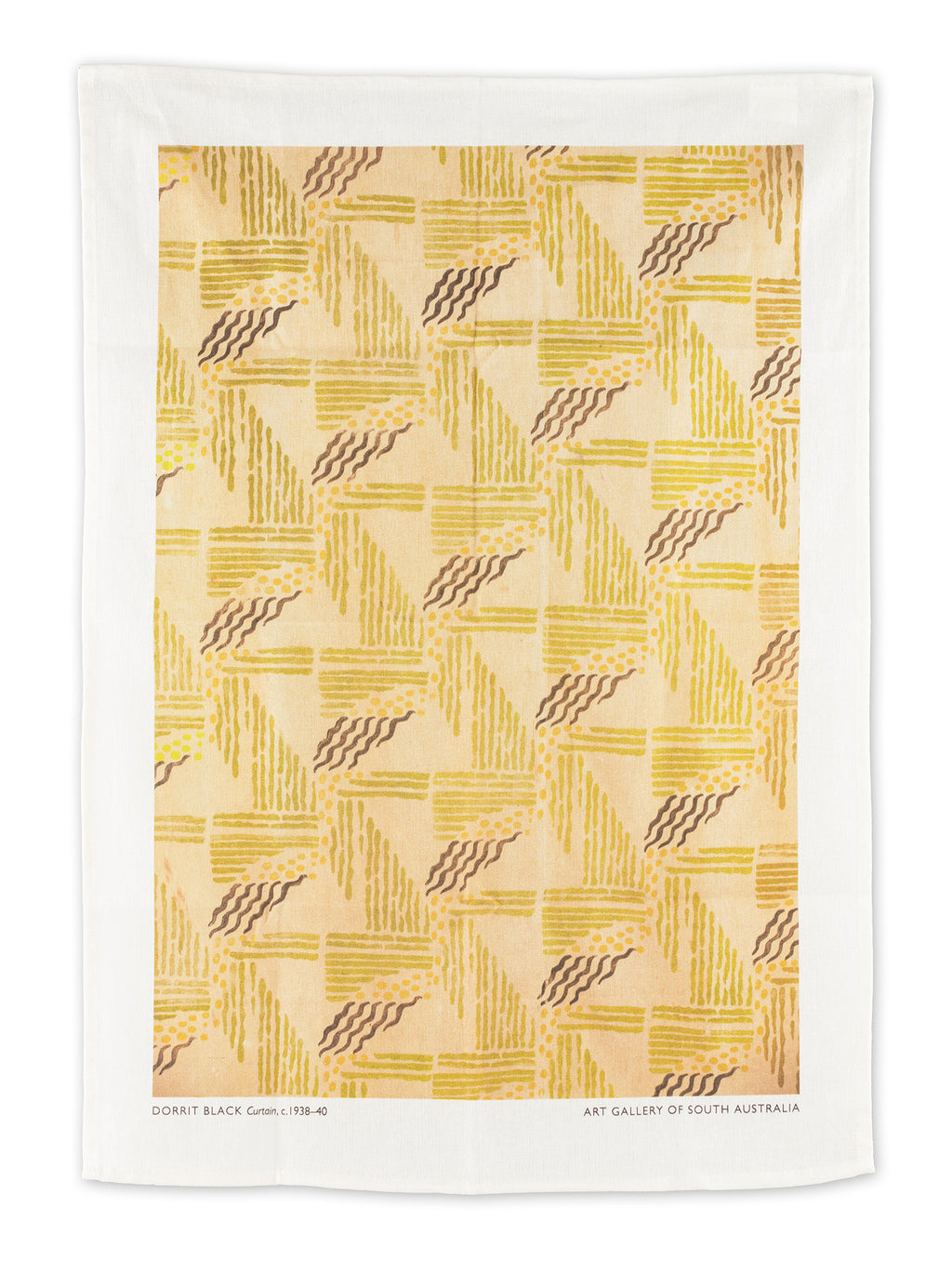 Dorrit Black Tea Towel