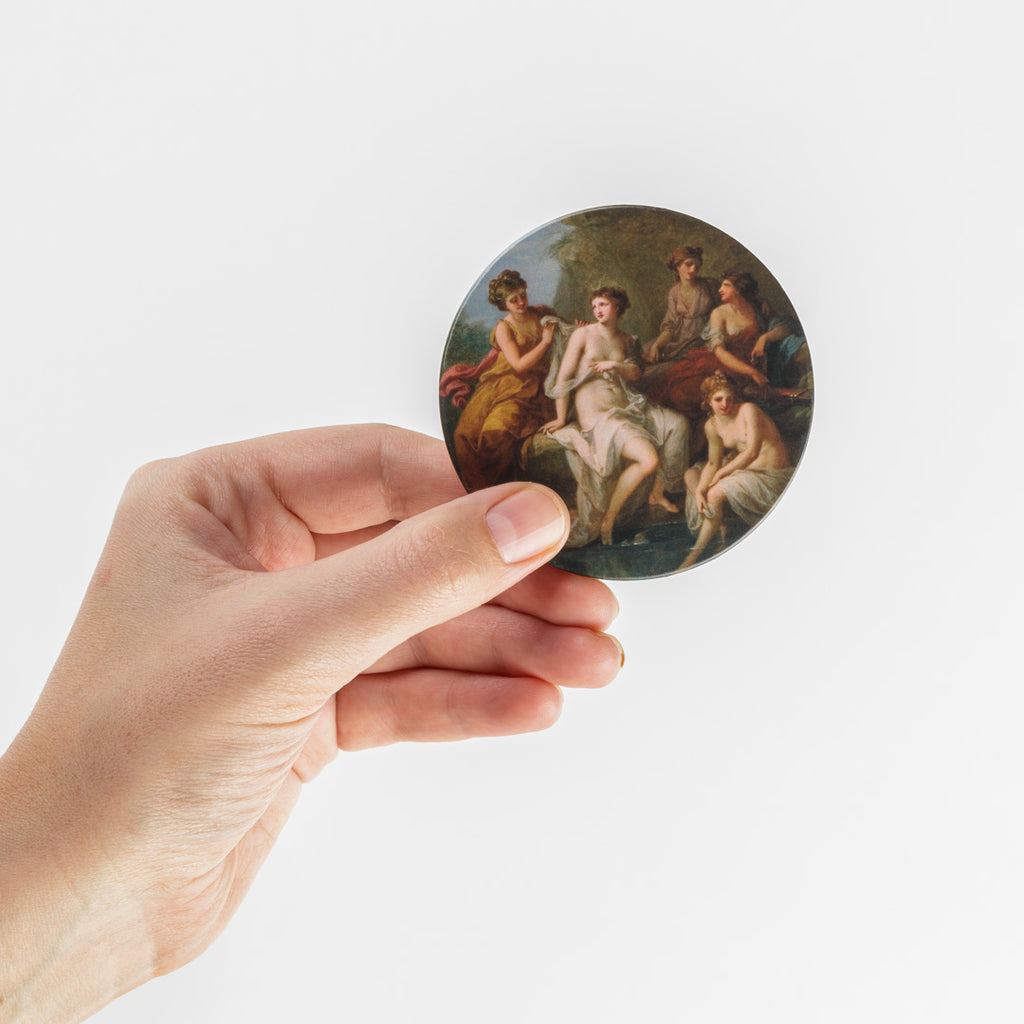 Angelica Kauffmann Pocket Mirror