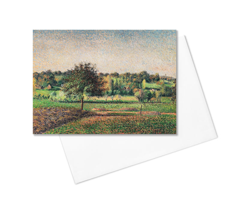 Camille Pissarro Greeting card