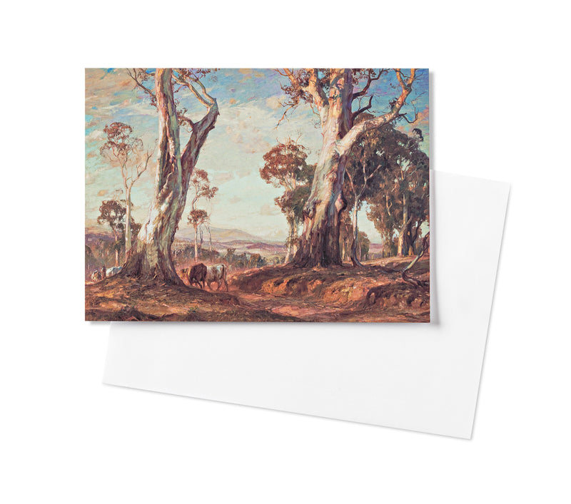 Hans Heysen Greeting Card