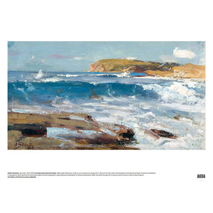 An Impression from the Deep by Arthur Streeton - A3 Print