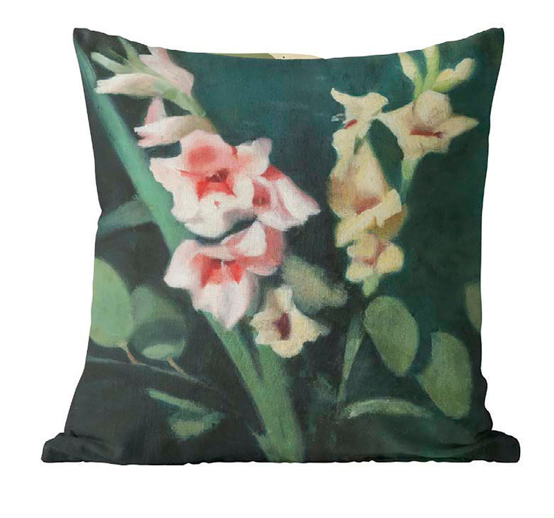 Clarice Beckett 'Gladioli' Cushion