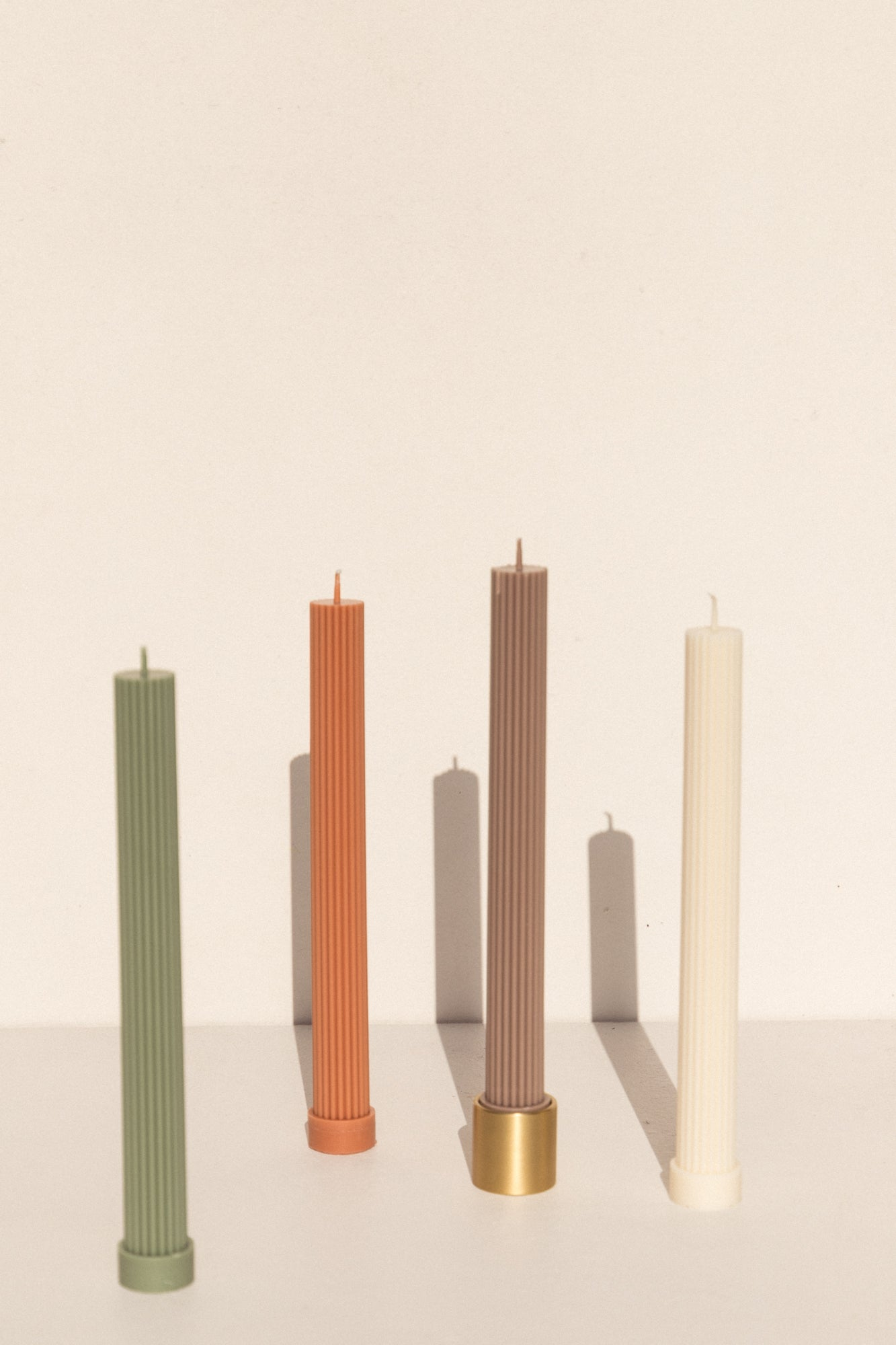 black blaze soy wax pillar candles table colour column on Makers Mrkt gift ideas makers market