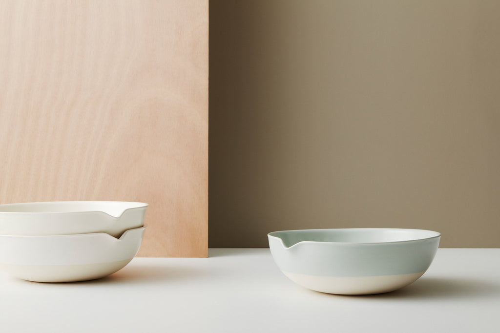 Gidon Bing ceramic salad bowl on Makers Mrkt Makers Market Melbourne