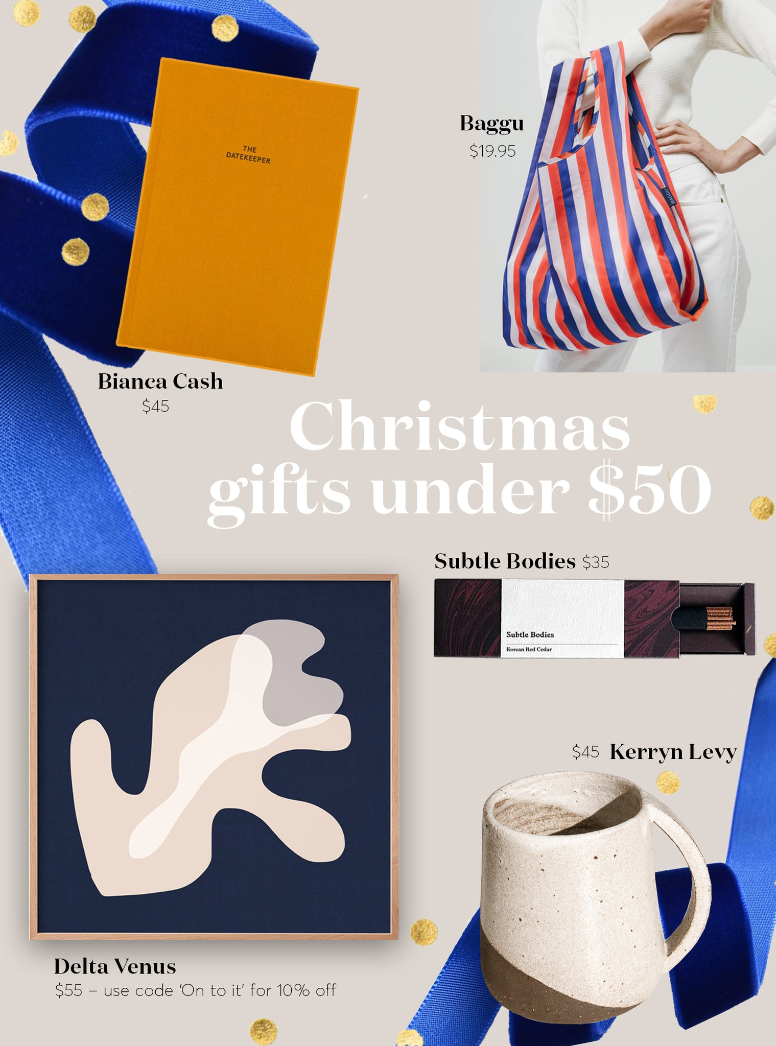 Maker's Mrkt 5 Christmas Gift Ideas under $50 – Makers Market