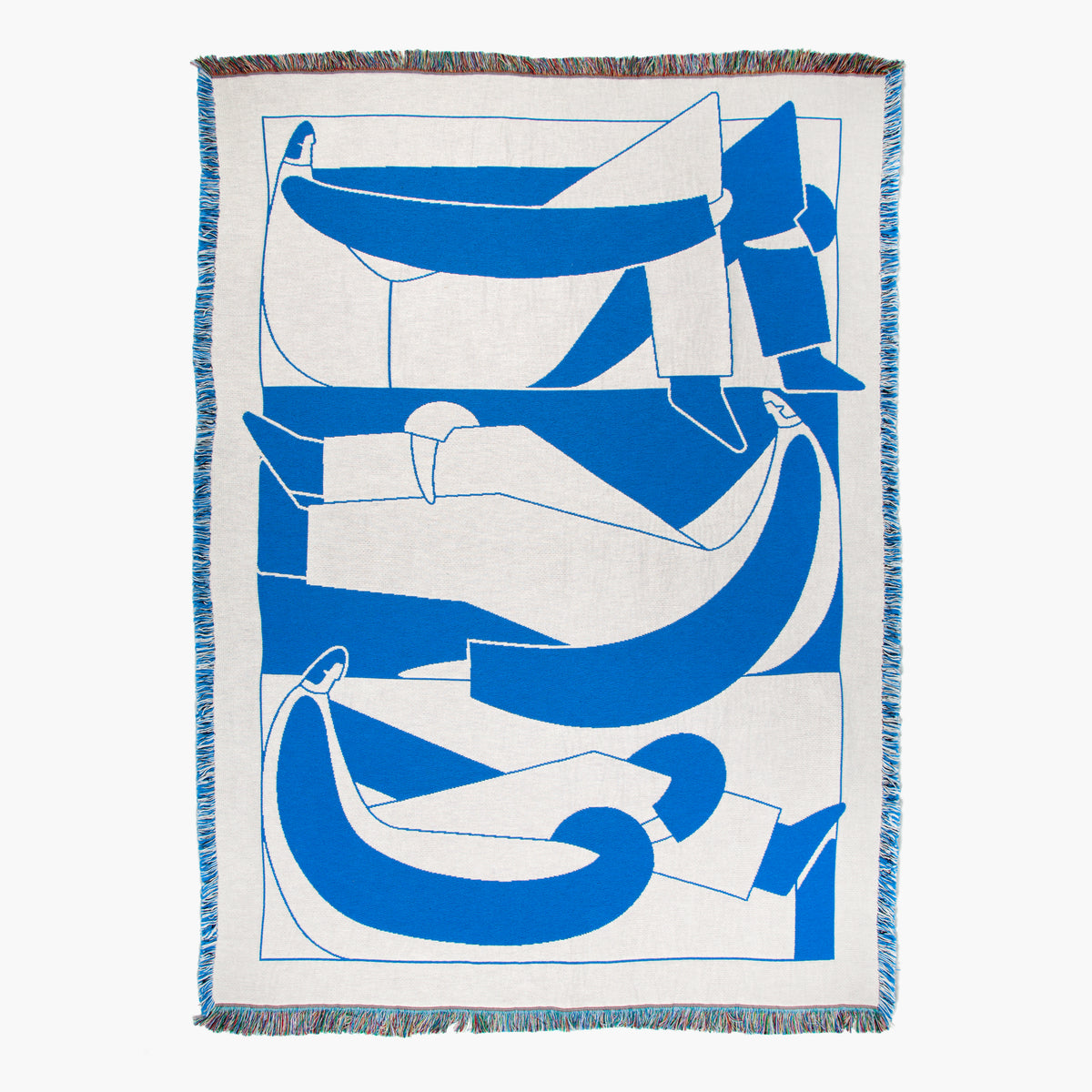 Slowdown Studio Bensen Throw blanket on Makers' Mrkt Melbourne