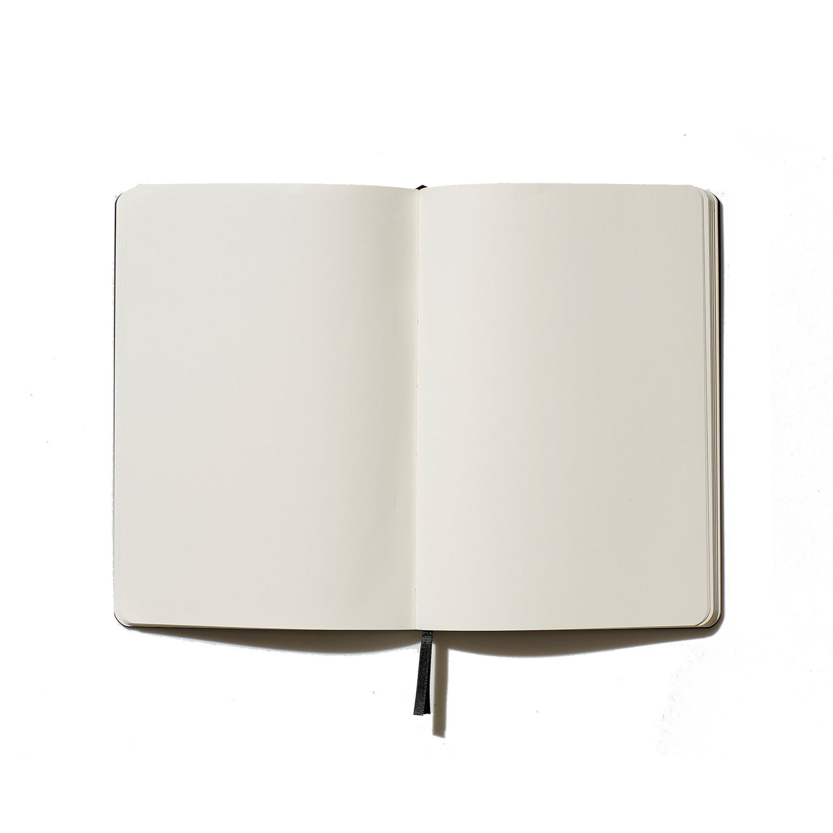 Un-lined Leather Look Notebook