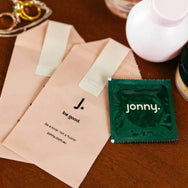 Jonny vegan friendly condoms eco friendly Lovers dozen pack on Maker's Mrkt Makers Market Melbourne