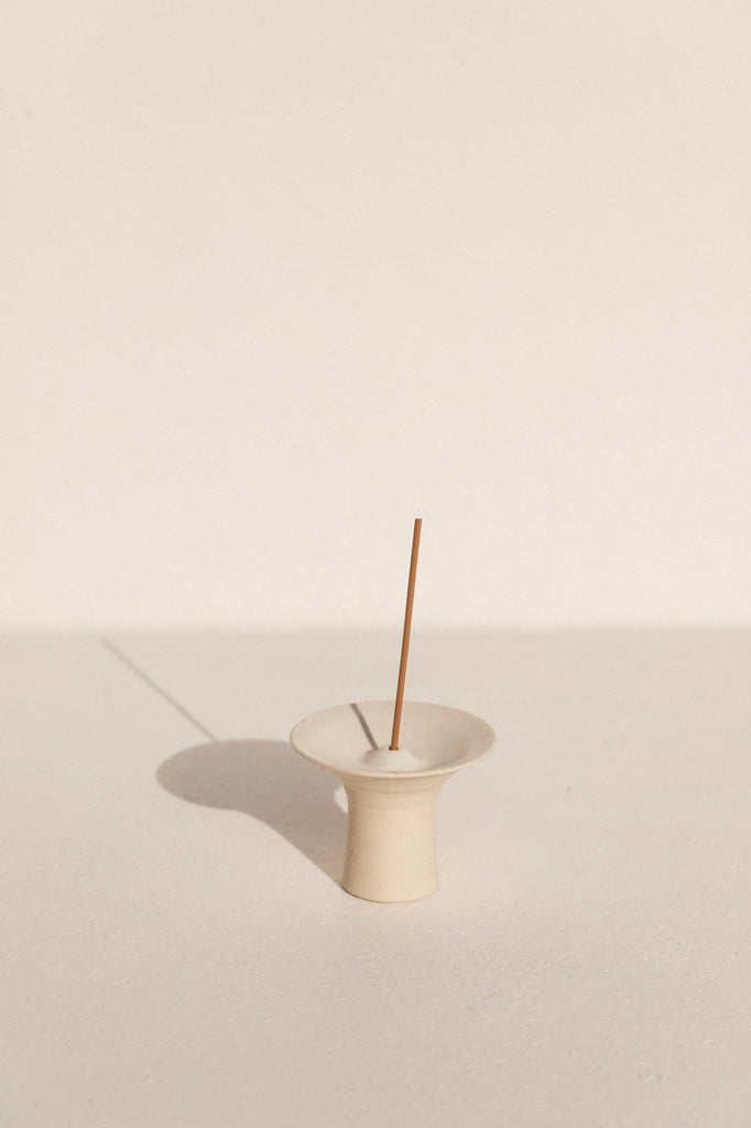 Kura Studio ceramic incense holder on Makers' Mrkt Makers Market Melbourne