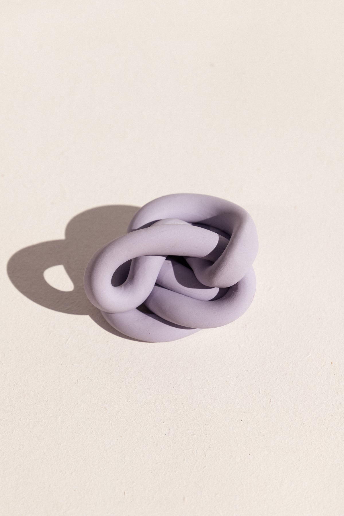 Arowm polymer clay jumbo knot sculptutal ceramic on Makers' Mrkt Makers Market Melbourne