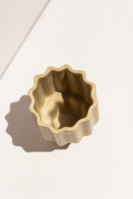 Ella Reweti Tapered Vase in wheat colour colour on Makers' Mrkt Makers Market Melbourne