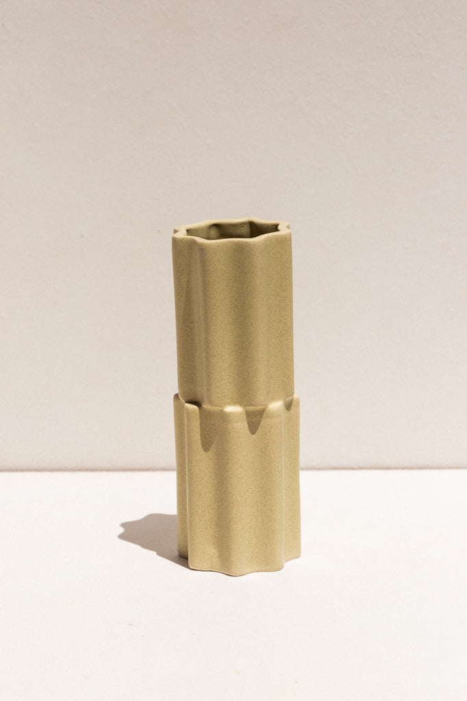 Tilde Stacked Vase - Wheat