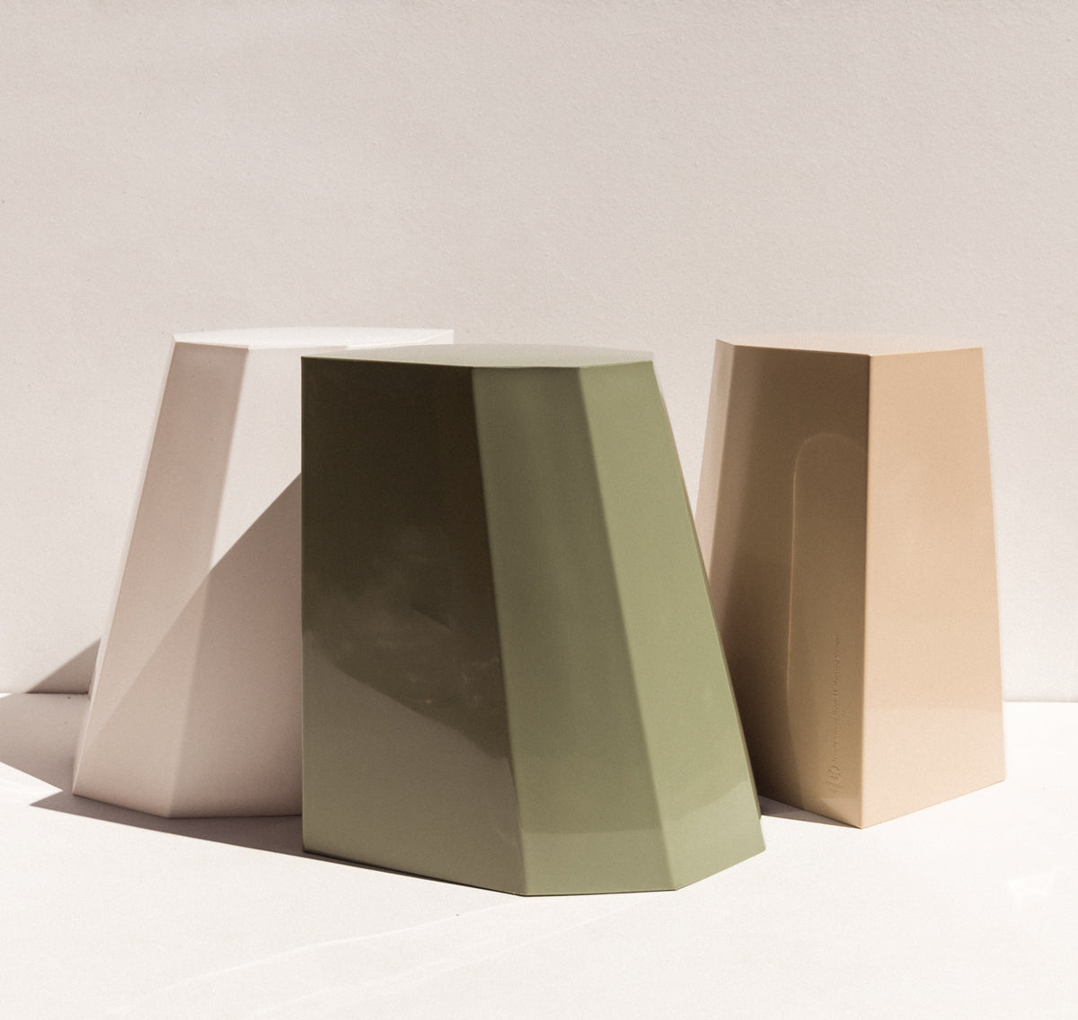 Martino Gamper Arnold Circus Stool Pale Eucalypt Australian stockist Makers' Mrkt , makers market Melbourne furniture