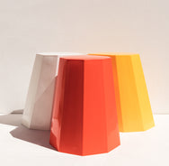 Martino Gamper Arnold Circus Stool orange Australian stockist Makers' Mrkt , makers market Melbourne furniture