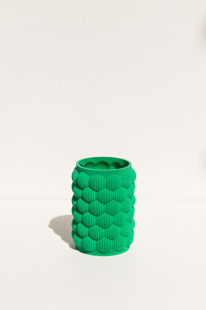 UAU Project S Vase in green on makers' mrkt Makers Market Australia melbourne exclusive