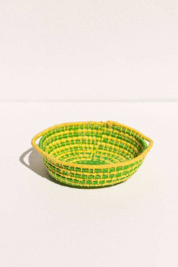 Numbulwar Numburindi Arts handwoven basket bowl on Makers' Mrkt, makers' market Melbourne