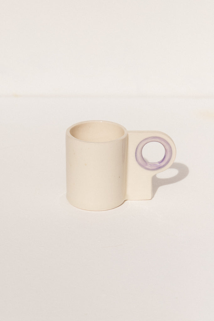 Abs Objects Lavender coloured L70 ceramic handmade  mug on Makers' Mrkt Makers Market Melbourne