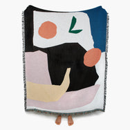 Daniel Fletcher Mooney Throw Slowdown Studio blanket throw Makers market makers market melbourne