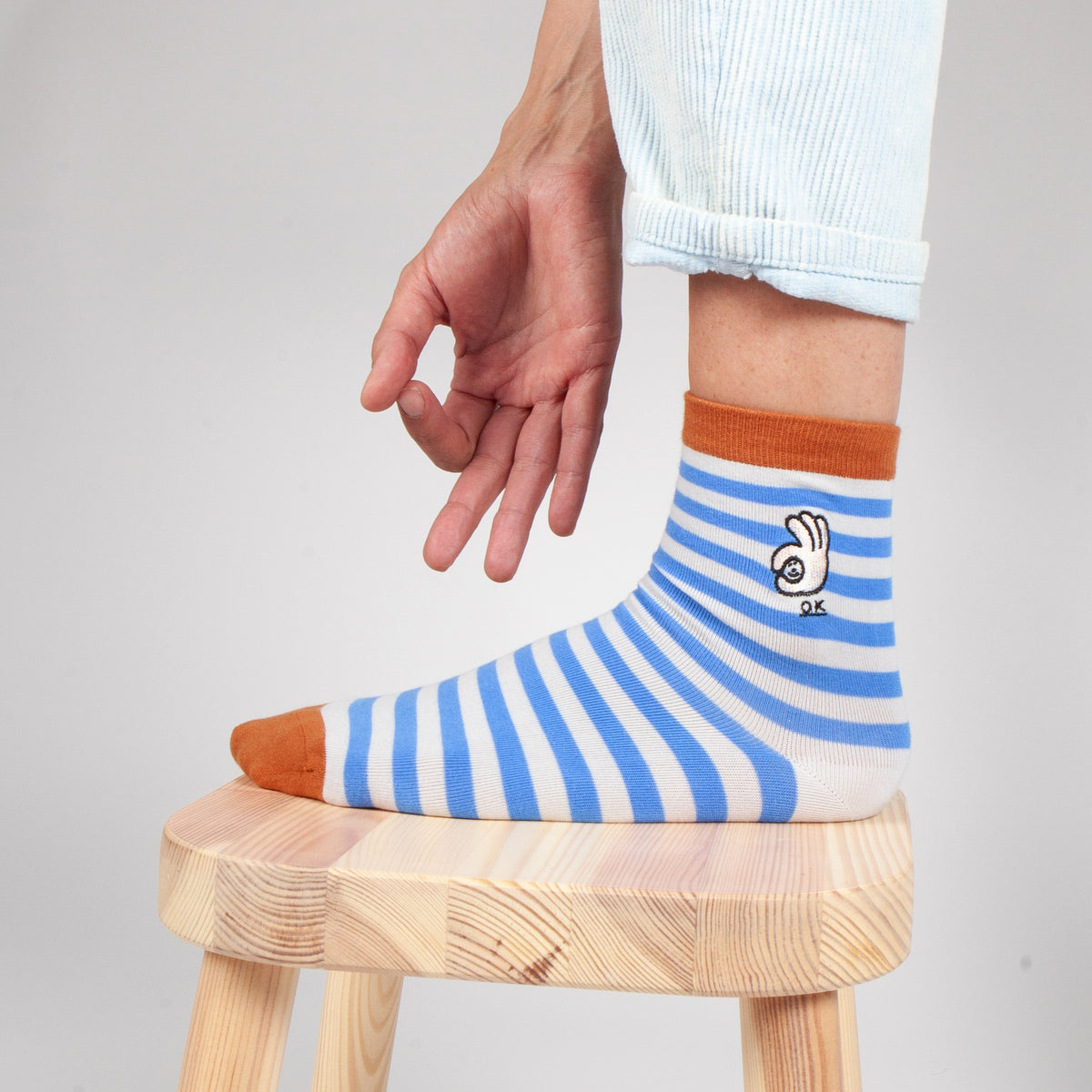 SUJIN KIMM OK Socks Slowdown Studio Makers Market Melbourne Makers' Mrkt