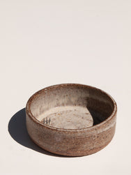 white Ikebana bowl by Asomibasu Clay Melbourne. Available on Maker's Mrkt Maker's Market
