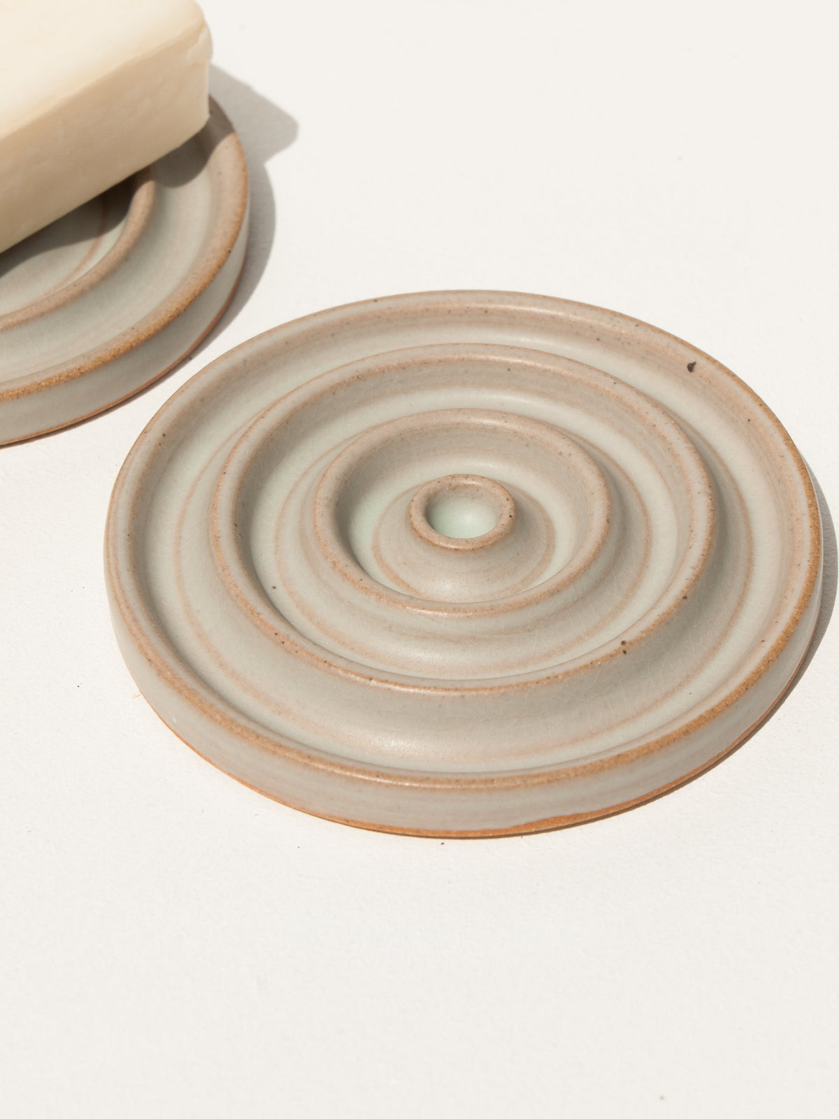 Maker's Mrkt makers Market Melbourne ceramic handmade soap dish from New Zealand by ceramicist Deborah Sweeney