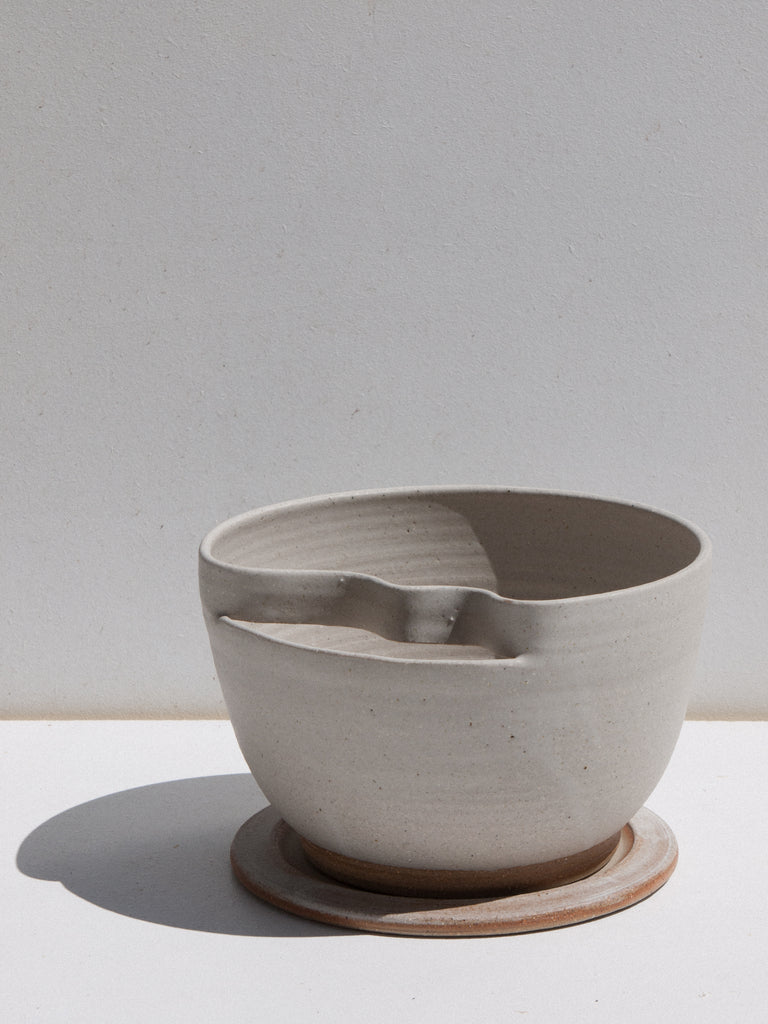 Asobimasu Clay Kaiketsu Planter ceramic plant pot on Maker's Mrkt, makers market Melbourne