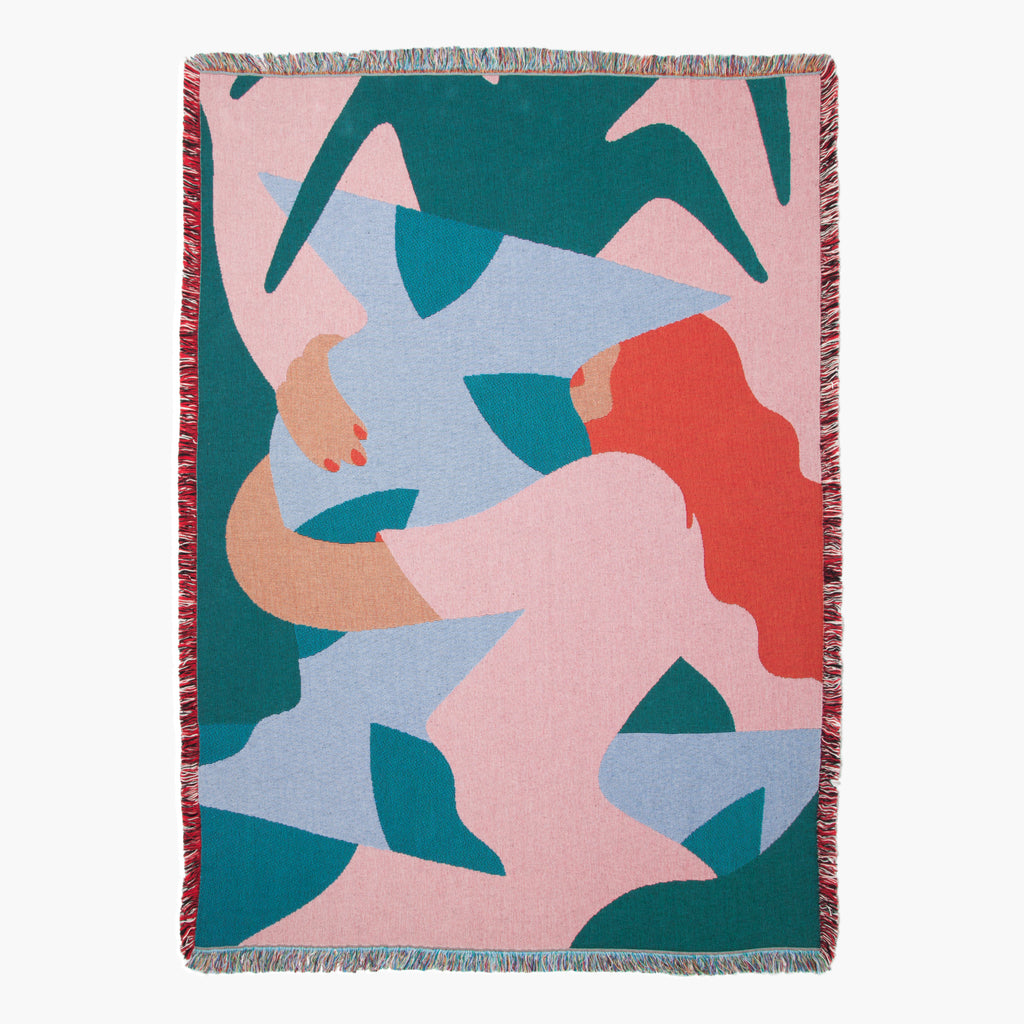 Slowdown Studio Rodriguez Throw blanket on Makers' Mrkt Melbourne