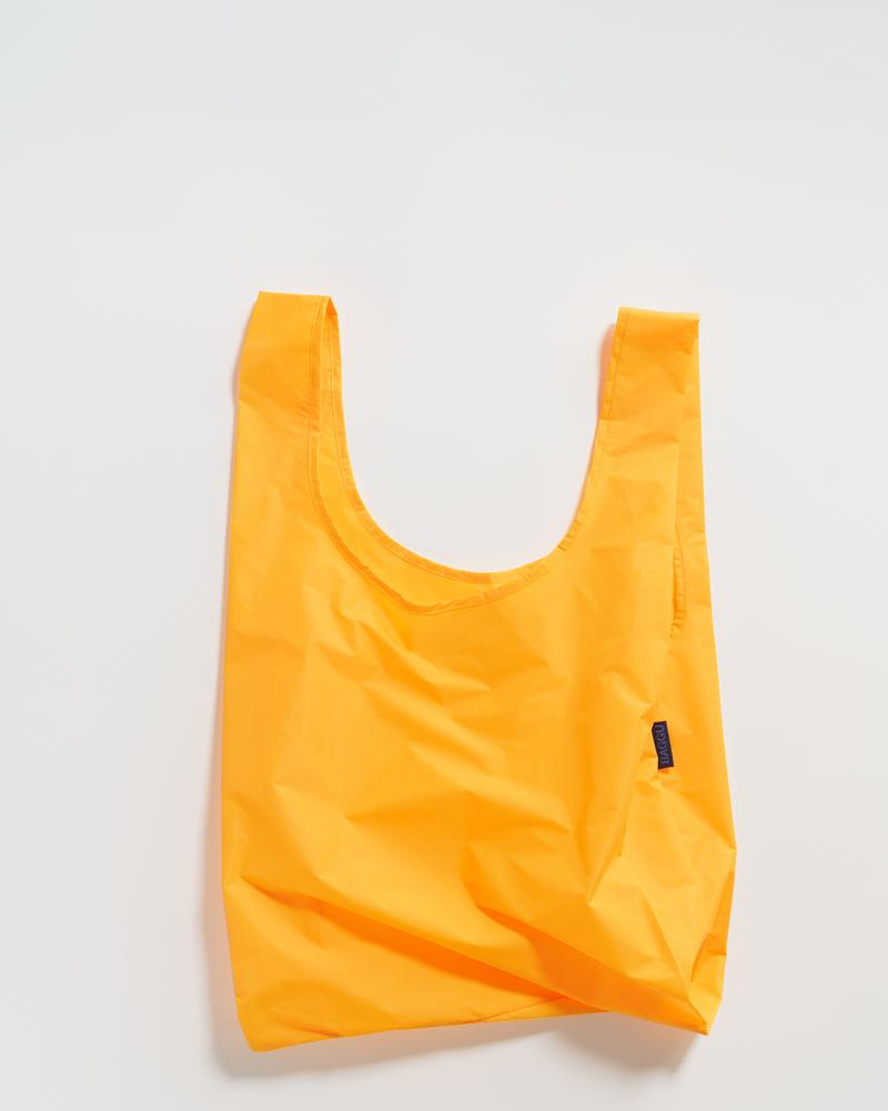 standard Baggu reusable bag in Electric Saffron yellow on Makers' Mrkt Makers Market Melbourne