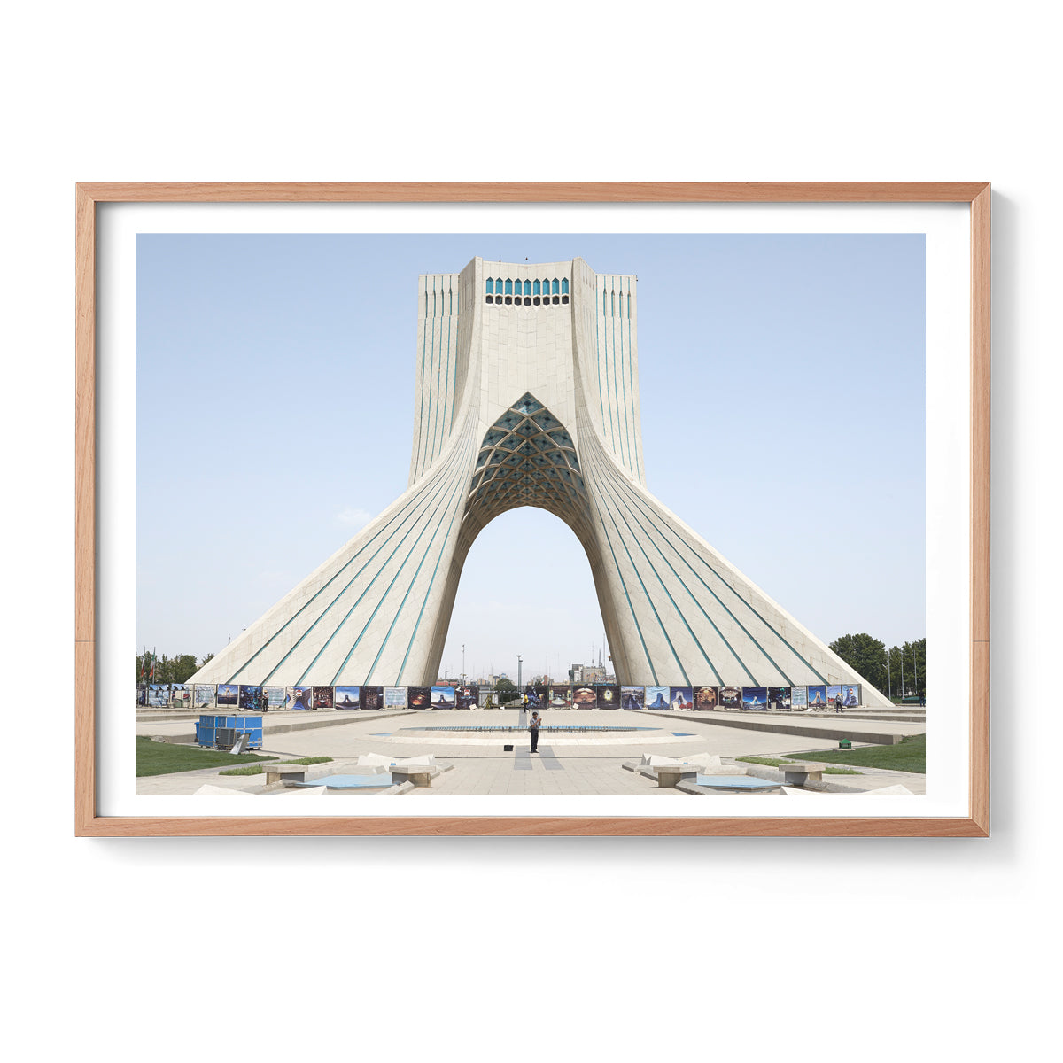 Azadi Tower Tehran Zico Oneil Photographic Print Artmoney Makers Market, Makers Mrkt Melbourne