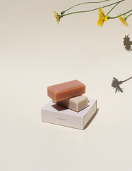 So.Ah Rosehip x Black Bean Soy Milk soap on Makers' Mrkt, Makers Market Melbourne