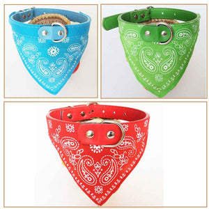 Bandana-Style Scarf-Collar for Dogs and Cats