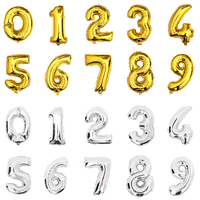 Air Filled Alphabets / Numbers Balloons Balloons Balloon Town - Party Boulevard Singapore Balloons Helium